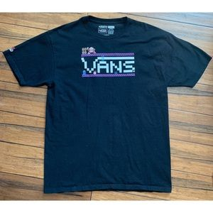 Vans Nintendo Men's Graphic T Shirt Black Large